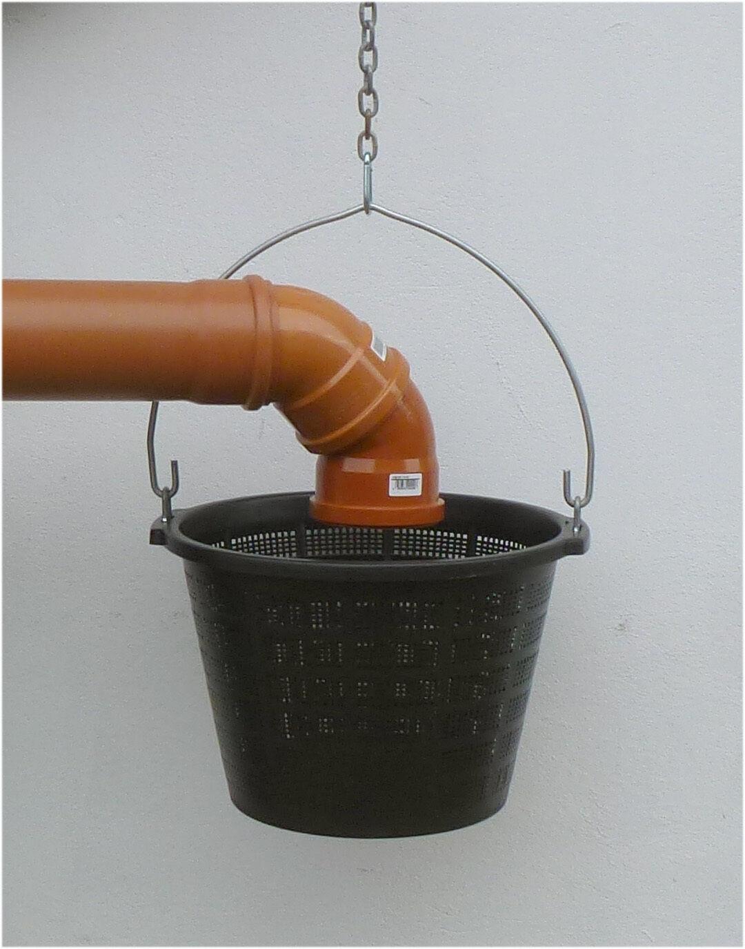 Zisternenfilter Regenwasserfilter Filter für Zisterne Laubfilter 20 Liter