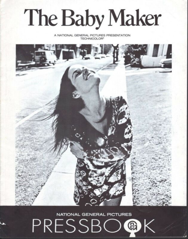 The Baby Maker 1970 pressbook - free shipping