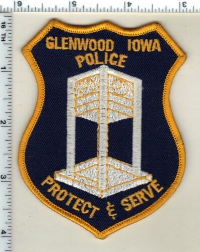 Glenwood Police (Iowa)  Shoulder Patch - new from 1996