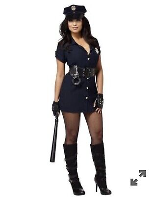 Cop Costume Spirit Halloween (NWT Spirit Halloween In the Line of Duty Cop Police Officer Costume - Small)