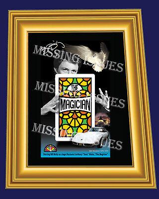 Bill Bixby as The Magician Print