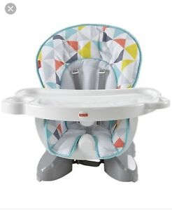Fisher price seat saver high chair