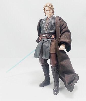 SU-R-TN: Dark Brown Wired Jedi Fabric Robe for 6