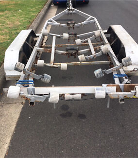 Boat Trailer Dual/Tandem Axle Registered Electric Winch