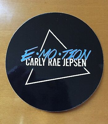 Carly Rae Jepsen E Mo Tion 2015 Ltd Ed Rare Sticker   New