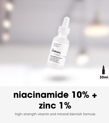 💛THE ORDINARY Niacinamide 10% +Zinc 1% 30ml, NEW:MAR18, 24 Hour Delivery 💜