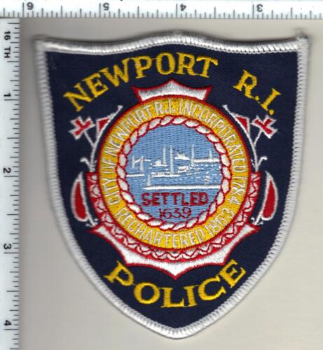 Newport Police (Rhode Island) Shoulder Patch from 1995