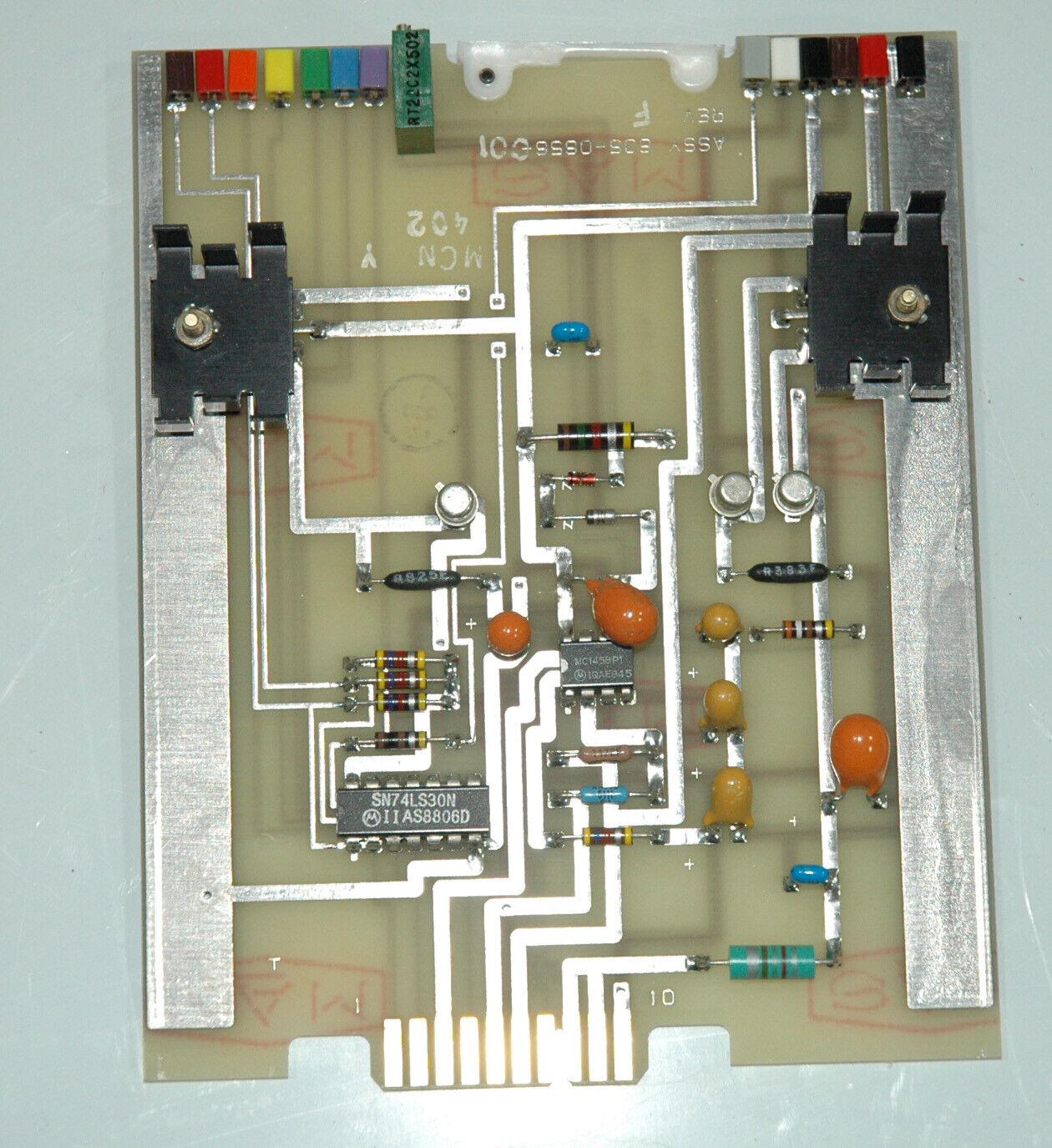 851s 1 synthesizer voltage regulator p n