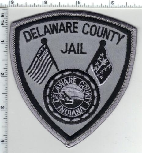 Delaware County Jail (Indiana) Subdued Shoulder Patch - new from the 1980s