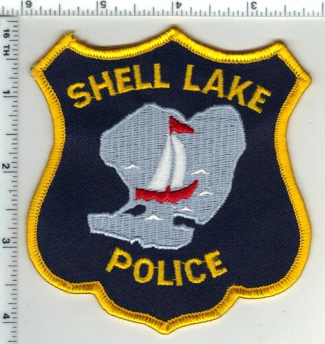 Shell Lake Police (Wisconsin) 1st Issue Shoulder Patch