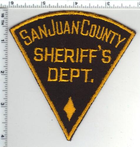 San Juan County Sheriff (New Mexico) Shoulder Patch - new from the Early 1980