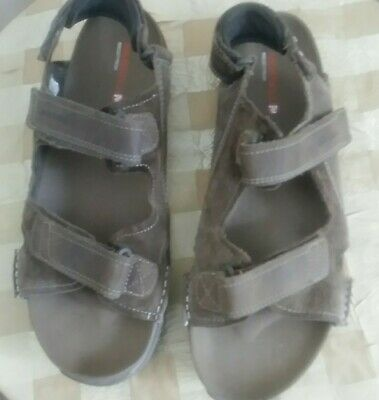 MERRELL Select Grip Soles Brown Sandals Mens Size 14.  ()