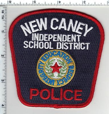 New Caney I.S.D. Police (Texas) 1st Issue Shoulder Patch