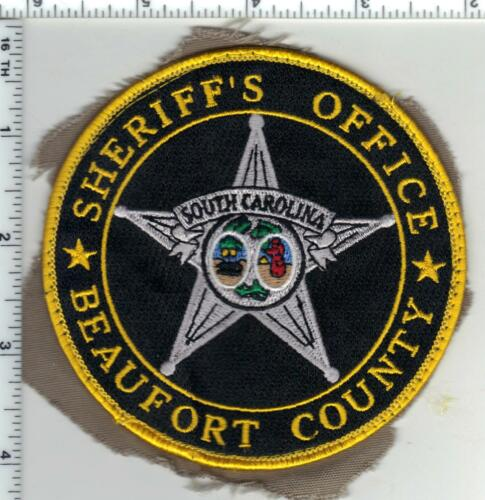 Beaufort County Sheriff (South Carolina) 2nd Issue Uniform Take-Off Patch