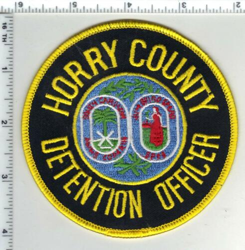 Horry County Detention Officer (South Carolina) 1st Issue Shoulder Patch