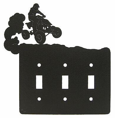 Atv 4-wheeler Four 4 Wheeler Triple Switch Cover Plate