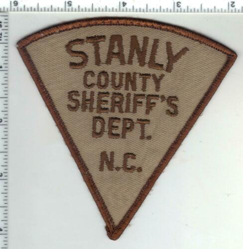 Stanly County Sheriff (North Carolina) 2nd Issue Uniform Take-Off Patch