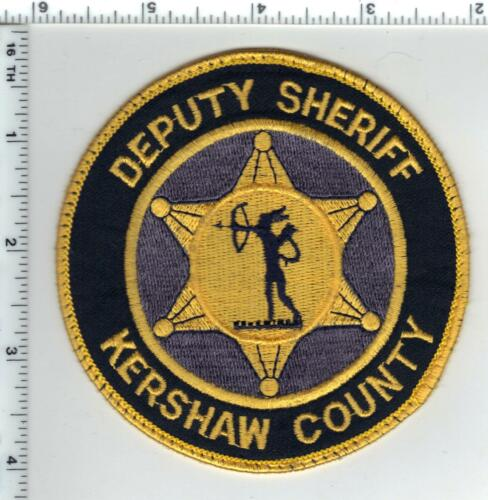 Kershaw County Deputy Sheriff (South Carolina) Shoulder Patch - Early 1980s