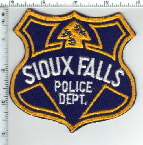 Sioux Falls Police (South Dakota) 1st Issue Shoulder Patch