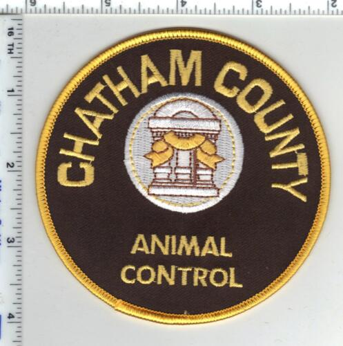 Chatham County (Georgia) Animal Control Shoulder Patch from 1980