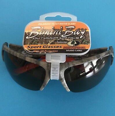 098afc3ca6ac Bimini Bay Mossy Oak Polarized Camo Sunglasses MO-BB103-OC Copper Lens