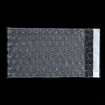 25 Plastic Clear Bubble Envelopes Wrap Bags 4.5