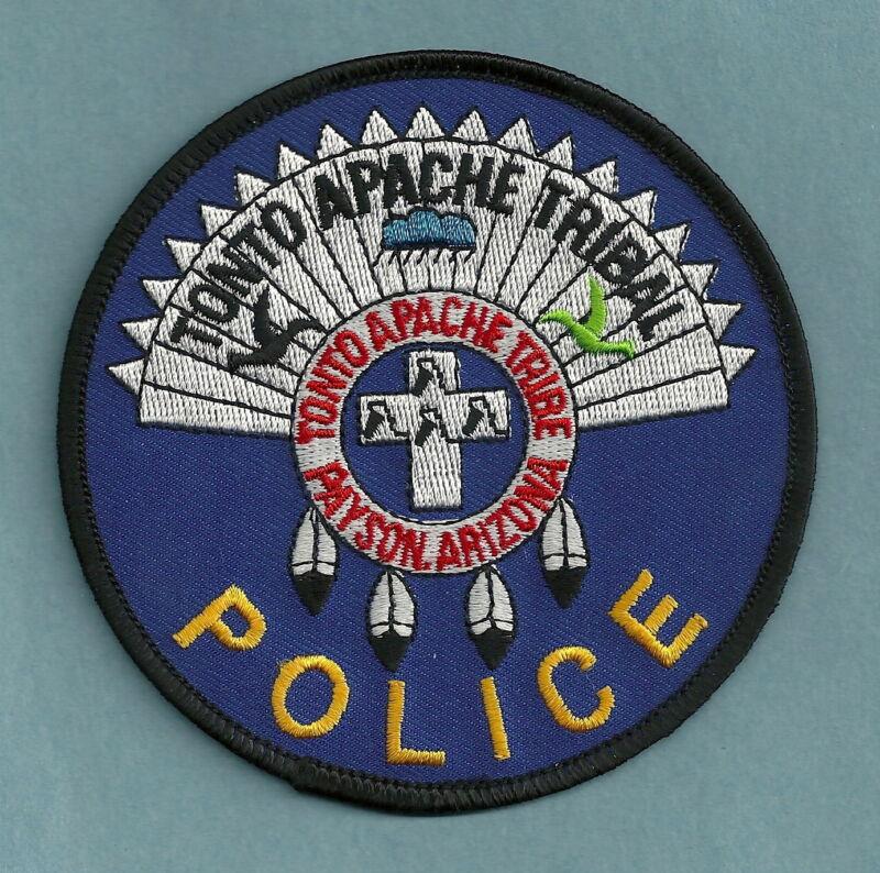 TONTO APACHE ARIZONA TRIBAL POLICE SHOULDER PATCH