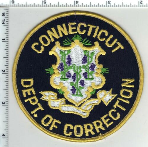 Connecticut Department  of Corrections 3rd Issue Shoulder Patch
