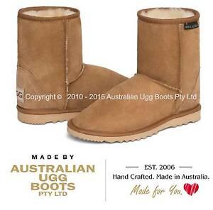 NEW 100% Australian Sheepskin Short Ugg Boots, 16 Colours. Big Sizes Available!
