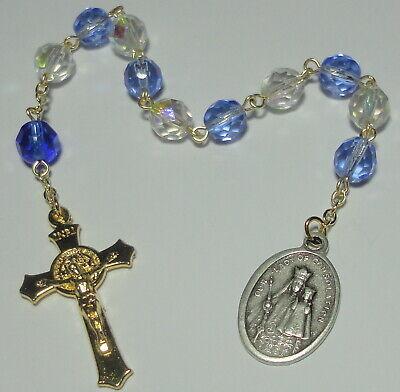 Our Lady of Consolation Single Decade Rosary Chaplet w/ Carey, Ohio Shrine -