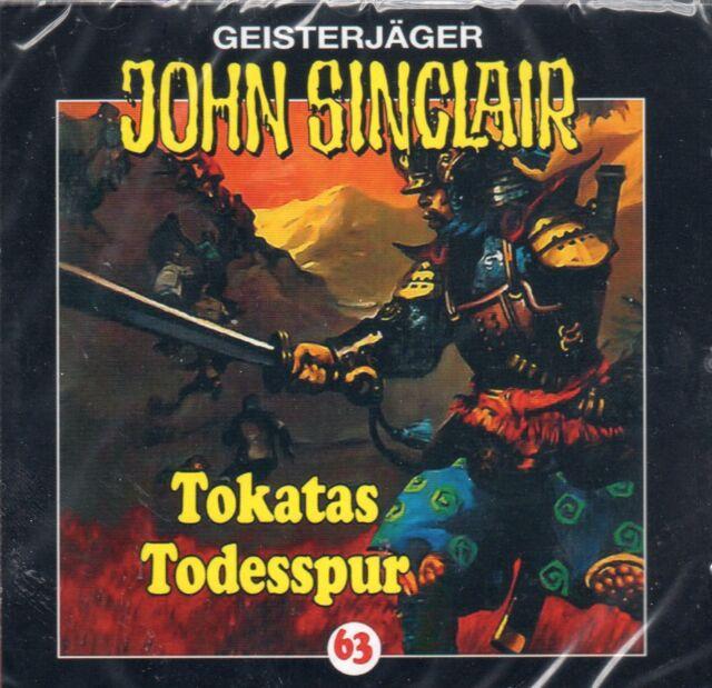 JOHN SINCLAIR - Teil 63 - Tokatas Todesspur - AUDIO CD - NEU OVP