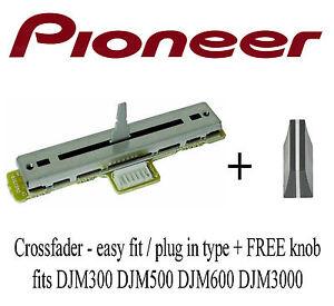 PIONEER-CROSSFADER-DJM300-DJM500-DJM600-DJM3000-FREE-KNOB-XFADER-DJM-500-600