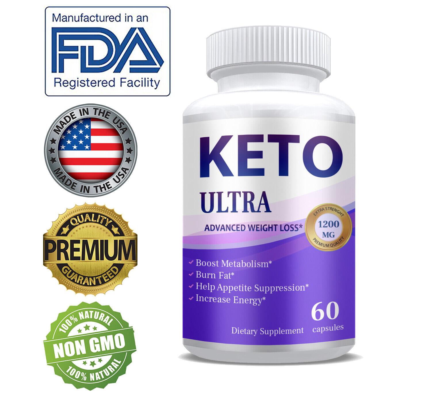 Shark Tank Keto Diet Pills Supplements 1200MG Fat Burner Fas