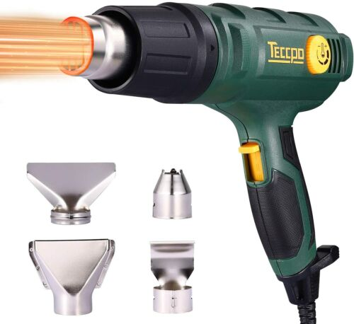 Heat Gun,1500W Professional Electric Hot Air Gun for Crafts, tripping Paint,Fast