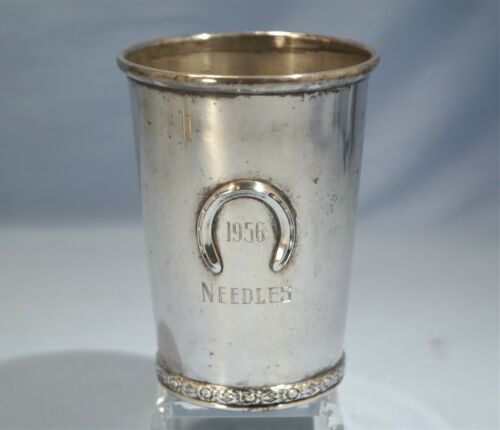 Official Kentucky Derby Sterling Silver Mint Julep Beaker/Cup Circa 1956