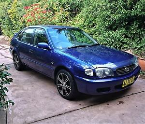 1999 Toyota Corolla Conquest Seca Hatchback Nelson Bay Port Stephens Area Preview