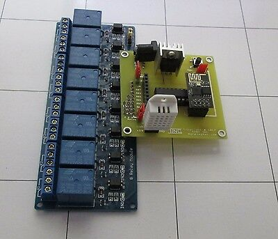 248 Channel Dc 5v Relay Wifi Adapter Module - Arduino Raspberry Pi Arm Avr Dsp