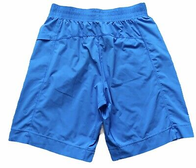Men's Lululemon Blue Running Athletic Shorts Size Medium Unlined Pocket
