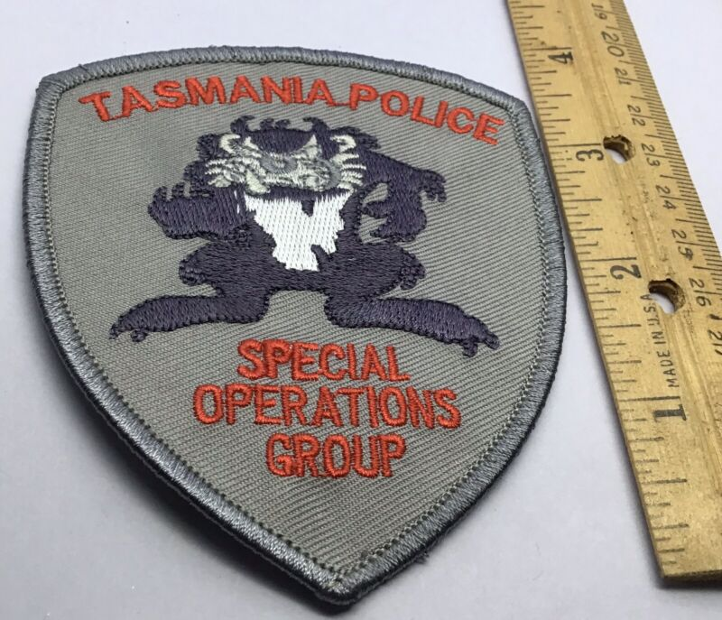 PATCH AUSTRALIA POLICE DEPARTMENT TASMANIA TASMANIAN DEVIL Special Operations