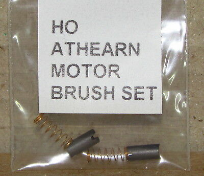 ATHEARN MOTOR BRUSH PART # 90036 AND MOTOR SPRING SET HO SCALE, NEW