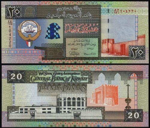 KUWAIT 20 DINARS (P28) 1994 UNC