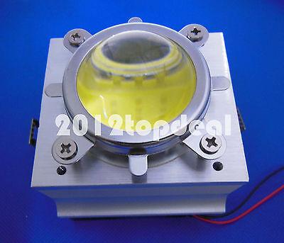 20-100w Led Aluminium Heat Sink Cooling Fan90-12044mm Lens Reflector Bracket