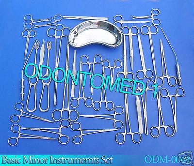 Minor Basic Instrument Set Orthopedic Surgical Forceps Ds-969