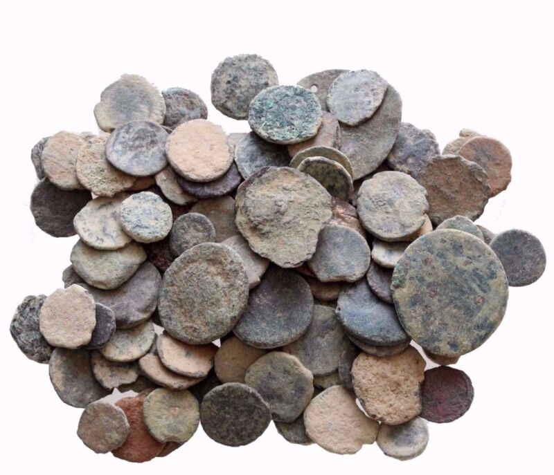 ---VERY Nice MIX LOT OF 12 AE ANCIENT & ROMAN COINS AND ALWAYS BONUS COINS ADDED