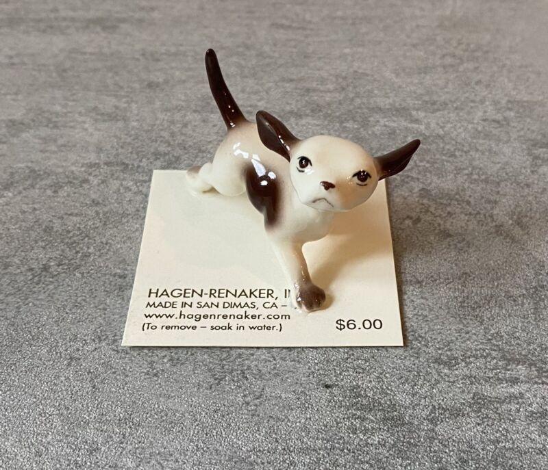 NEW! Hagen Renaker Miniature Dog Figurine Running Dog 00186 Made in USA