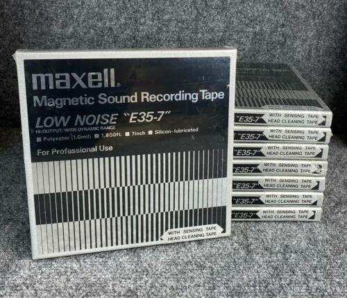 (8) Maxell E35-7 Reels ~ NOS SEALED!