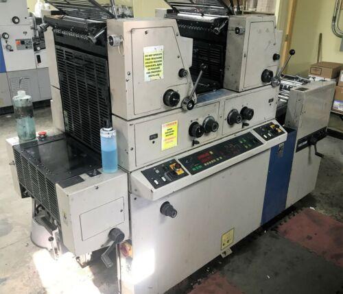 Ryobi 3302 two color printing press