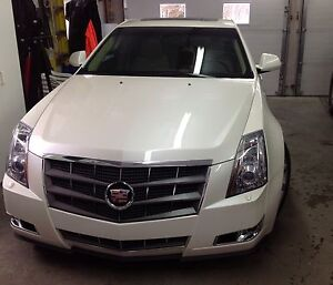 Cadillac CTS-4, 2009 Blanc diamant, proprio femme