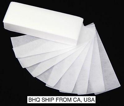 100 Pcs Depilatory Waxing Paper Strips Hair Removal Paper Salon