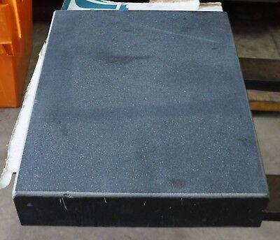 "24"" x 18"" x 4"" Precision Machinist Black Granite Surface Plate ."
